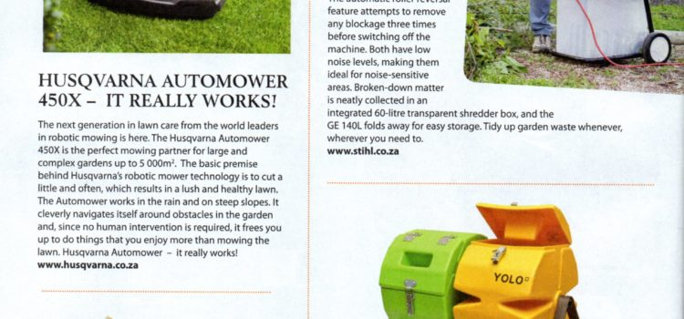 YOLO Compost Tumbler in Grow to Eat magazine