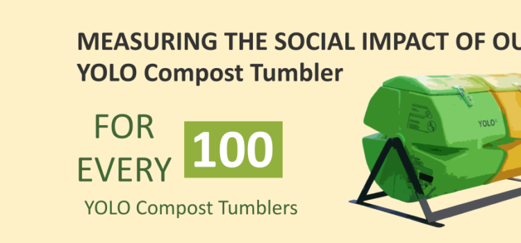 Doing good socially and environmentally with YOLO Compost Tumblers