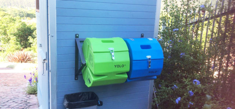 A special YOLO Compost Tumbler for Wendy