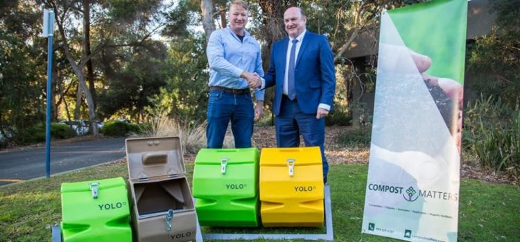 YOLO Compost Tumblers in the Land of Oz