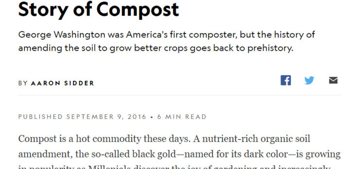 Compost needs what we need